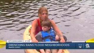 Major flooding along Treasure Coast due to heavy rain