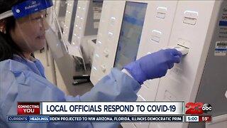 Local officials respond to COVID-19 precautions