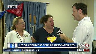 Lee County celebrating Teacher Appreciation Week - 7am live report