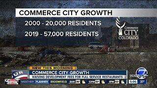 Commerce City waiving development fees for restaurants