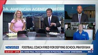 "Football Coach Fired For Defying School Prayer Ban"""