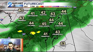 Showers Tonight, Warmth Coming