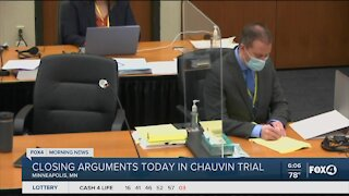 Closing arguments begin in Chauvin trial