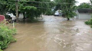Flash Flooding hits Chautauqua County
