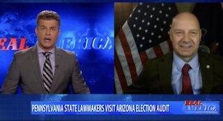 Pennsylvania Senator Doug Mastriano Visits the Arizona Audit