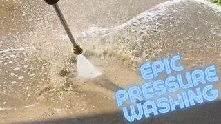Epic Driveway Pressure Washing