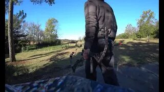 My First Time Compound Bow Archery Shooting   SE4 Mathews Compund Bow