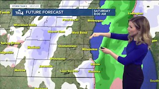 Cloudy skies and flurries throughout Saturday