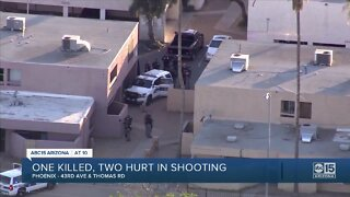 One killed, two hurt in shooting