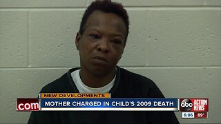 Manatee County woman arrested for 2009 death of 4-year-old daughter