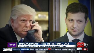 Impeachment trial in its final day