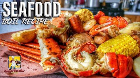 Seafood Boil In A Pot Recipe