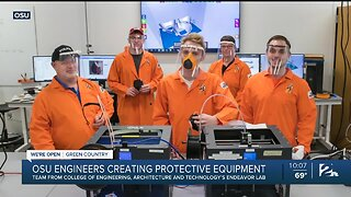 OSU Engineers Create PPE for First Responders
