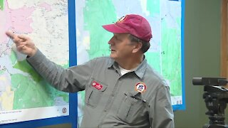 Officials provide Saturday update on the East Troublesome Fire