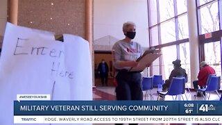 Military veteran still serving community