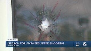 Police investigate Singer Island shooting