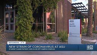 ASU students upset officials have not identified the coronavirus patient