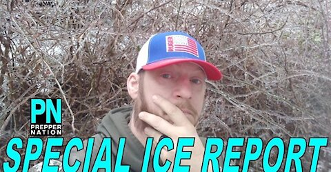 Special Ice Report from the Ponderosa!