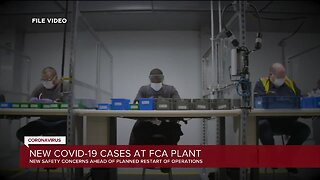 New COVID-19 cases at FCA plant