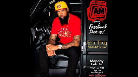 Slim Thug discusses his new song 'Black Queen' for the month of Black love