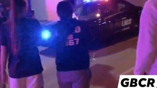 Violent scene in Green Bay