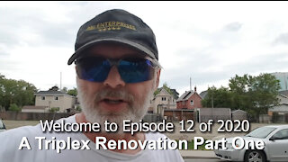 A Triplex Renovation Part One