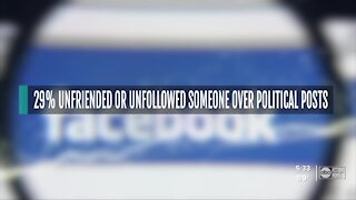 People rely on social media to get info from election