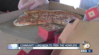 Community luncheon to feed Escondido homeless