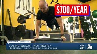 Saving money while losing weight