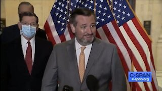 Reporter Asks Cruz To Wear A Mask And Gets Denied