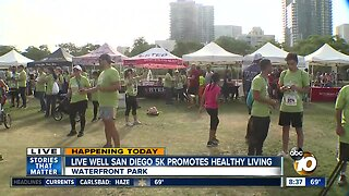 Live Well San Diego 5K promotes healthy living