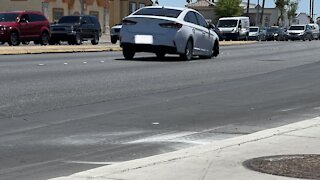 Pedestrian struck near U.S. 95, Jones Boulevard