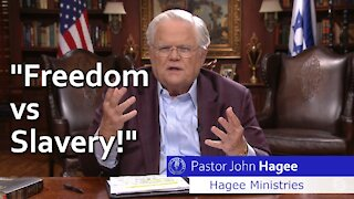 Pastor John Hagee with Joe Pags