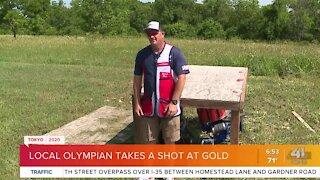 Local Olympian takes a shot at gold
