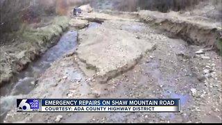 Shaw Mountain Road Repairs