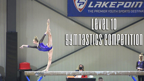 Whitney Bjerken | 1st Competition After Having COVID 19! | 4th Level 10 Gymnastics Meet