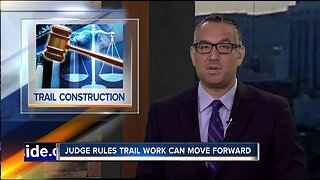 Trail construction judge ruling