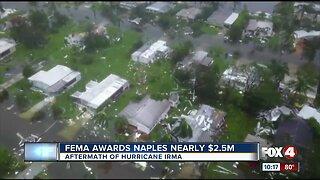 FEMA awards Naples $2.5 million dollars