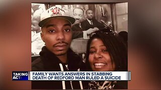 Family wants answers in stabbing death of Redford man ruled a suicide