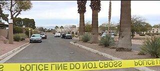 Las Vegas police investigate suspicious device