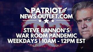 🔴 WATCH LIVE   Patriot News Outlet   Steve Bannon's, War Room Pandemic   10AM ET   9/15/2021