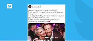 Conor McGregor announces retirement again
