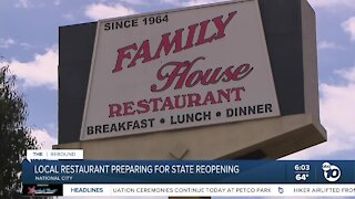 Popular local restaurant prepares for state reopening