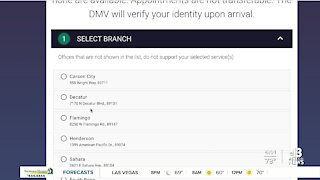 Nevada DMV evaluating capacity options, continues to recommend online services