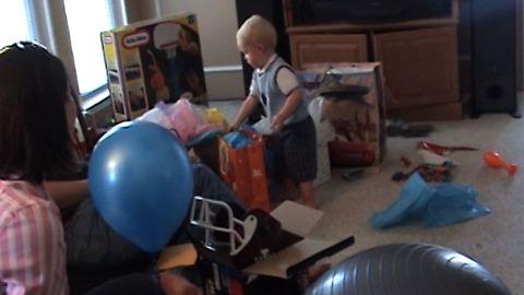 Kid Politely Rejects Birthday Present