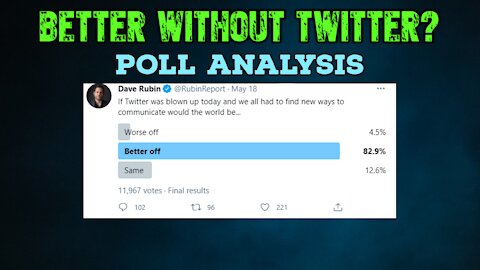 Better Without Twitter? Poll Analysis