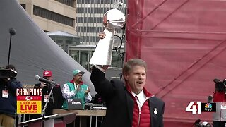 Clark Hunt: 'That parade is something I will never forget'