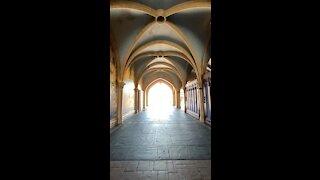 Walking through Cinderella Castle!