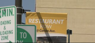 New signs, banners aim to draw visitors to downtown Vegas