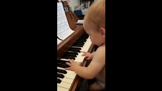 My baby Mozart brother